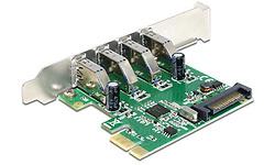 Delock 4-Port USB 3.0 PCI-e Card
