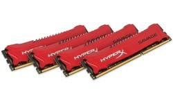 Kingston HyperX Savage 32GB DDR3-1600 CL9 quad kit