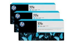 HP 771c Light Cyan 3-pack