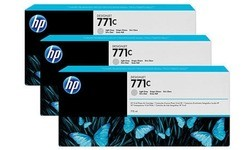 HP 771c Light Grey 3-pack
