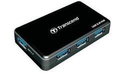 Transcend 4-port USB 3.0 Hub Black