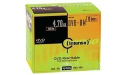 Intenso DVD-RW 4x 10pk Slim Case
