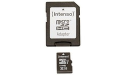Intenso MicroSDHC UHS-I 32GB + Adapter