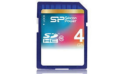 Silicon Power MicroSDHC 4GB Class 10