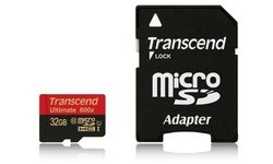 Transcend Ultimate MicroSDHC UHS-I 600x 32GB + Adapter