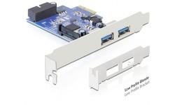 Delock 2-Port USB 3.0 PCI-e Card + 1 Internal