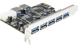 Delock 5-Port USB 3.0 PCI-e Card + 2 Internal