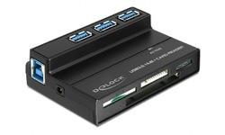 Delock USB 3.0 Card Reader All-in-1 + 3-Port USB 3.0