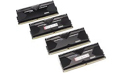 Kingston HyperX Predator 16GB DDR4-2400 CL12 quad kit