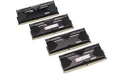 Kingston HyperX Predator 16GB DDR4-2400 CL12 quad kit