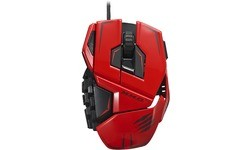 Mad Catz M.M.O. TE Gaming Mouse Red