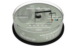 MediaRange CD-R 700MB 52x 25pk Spindle