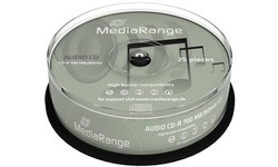 MediaRange CD-R 800MB 52x 25pk Spindle