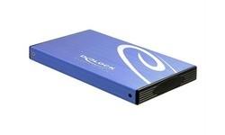 """Delock 2,5"""" External Enclosure USB2.0 Blue"""