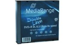 MediaRange DVD+R 8x 5pk Slim Jewel Case