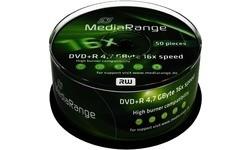 MediaRange DVD+R 16x 50pk Spindle