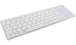 InLine Bluetooth Mini Keyboard with Touchpad White (DE)