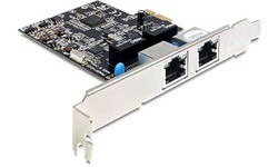 Delock 2x Gigabit Lan PCI-e Card