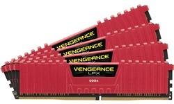 Corsair Vengeance LPX Red 16GB DDR4-2666 CL16 quad kit