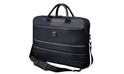 "Port Designs Sochi Top Loading Slim Bag Black 15.6"""
