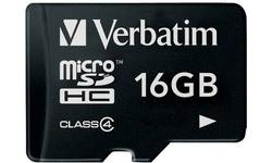 Verbatim MicroSDHC Class 4 16GB