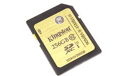 Kingston Ultimate SDXC UHS-I 256GB