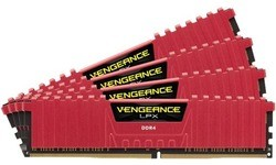 Corsair Vengeance LPX Red 32GB DDR4-2400 CL14 quad kit
