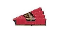 Corsair Vengeance LPX Red 32GB DDR4-2666 CL16 quad kit