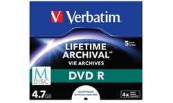 Verbatim DVD M-Disc 4x 5pk Jewel Case