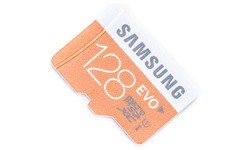 Samsung Evo MicroSDXC UHS-I 128GB + Adapter