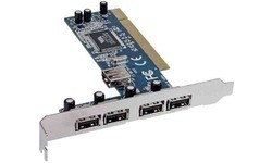 InLine 5-Port USB PCI Card