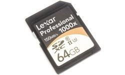 Lexar Professional SDXC UHS-II U3 1000x 64GB