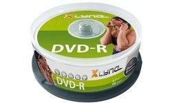 Xlyne DVD-R 16x 25pk Spindle