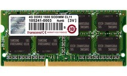 Transcend 4GB DDR3-1600 CL11 Sodimm