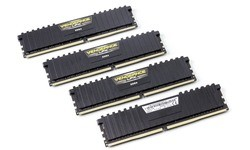 Corsair Vengeance LPX Black 16GB DDR4-3200 CL16 quad kit