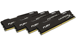 Kingston HyperX Fury Black 32GB DDR4-2400 CL15 quad kit