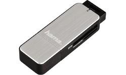 Hama SD/MicroSD Cardreader Silver