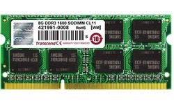 Transcend 8GB DDR3-1600 CL11 Sodimm