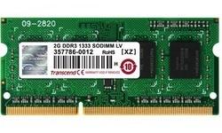 Transcend 2GB DDR3L-1333 CL9 LV Sodimm