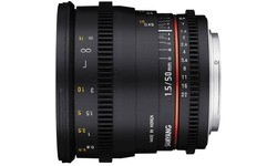 Samyang 50mm f/1.5 VDSLR (Canon EF)
