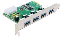 Delock 4-Port USB 3.0 PCI-e Card