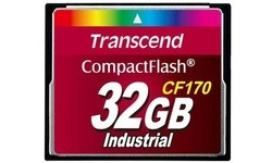 Transcend Industrial Compact Flash 170x 32GB