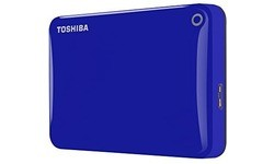 Toshiba Canvio Connect II 1TB Blue