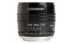 Lensbaby Velvet 56mm f/1.6 Macro Black (Alpha)