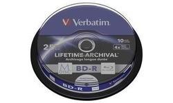 Verbatim BD-R 25GB 4x 10pk Spindle