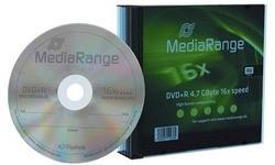 MediaRange DVD+R 16x 5pk Slim Case