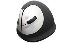 R-Go Tools Mouse Vertical Left Black/Silver