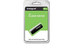 Integral USB 8GB Black