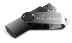 MediaRange Flexi Blister MR908 8GB Black/Silver