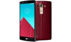 LG G4 Leather Red